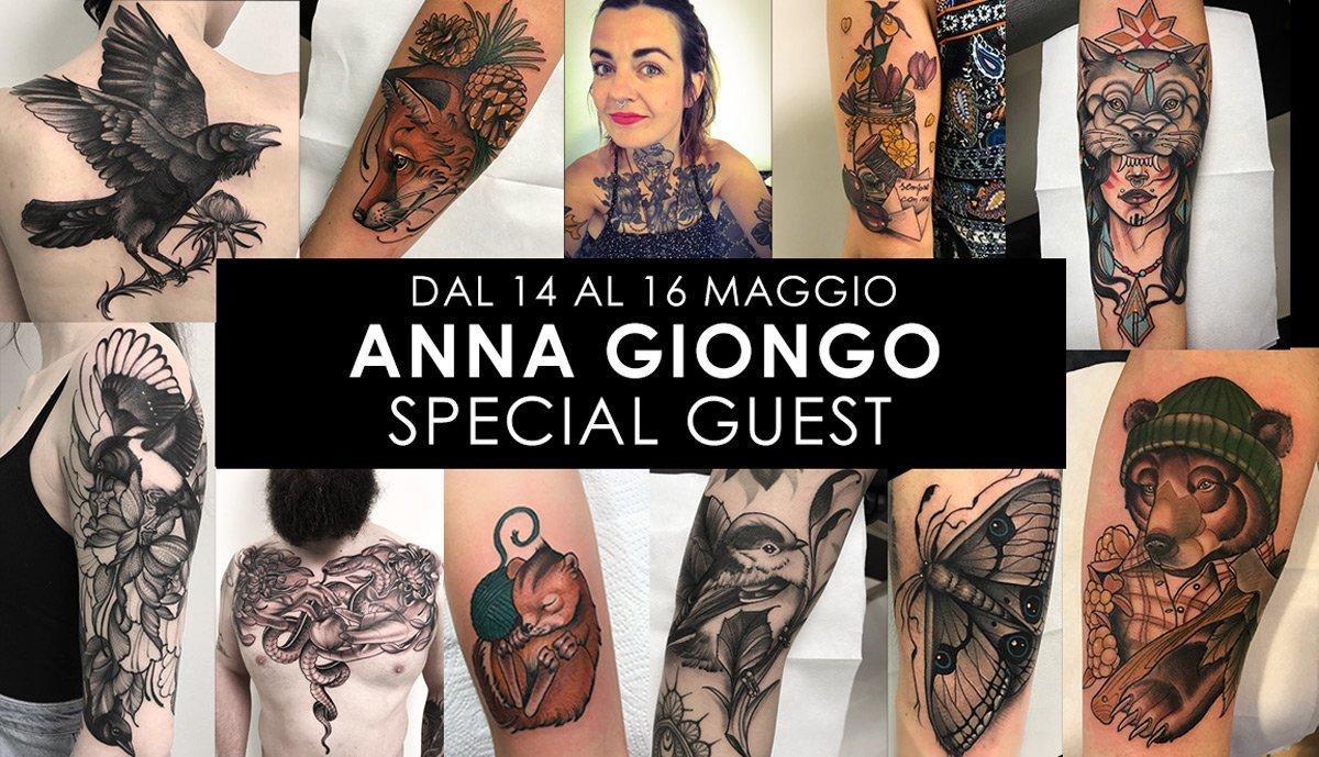 Anna Giongo Tattooer | Special Guest| Inside Tattoo Shop di Donna Mayla | Alba Adriatica | Tatuaggi | Piercing