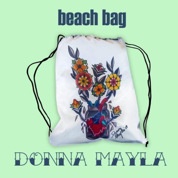 Beach Bag by Donna Mayla | Inside Tattoo Shop | Gadget