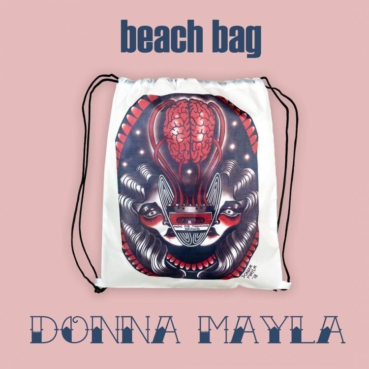Beach Bag by Donna Mayla | Inside Tattoo Shop | Gadget