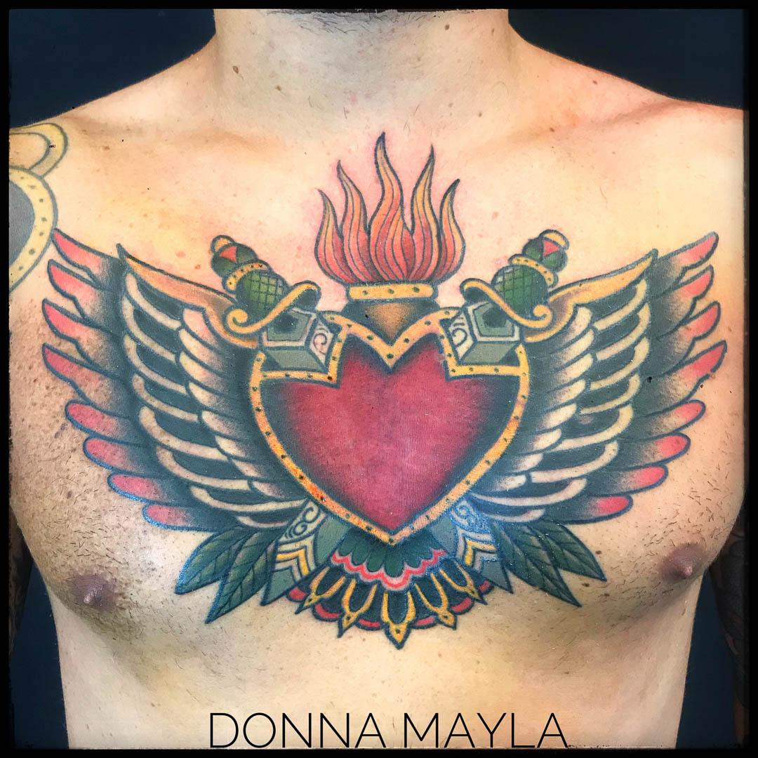 Donna Mayla Tattoer   Inside Tattoo Shop   Alba Adriatica   Tattoo