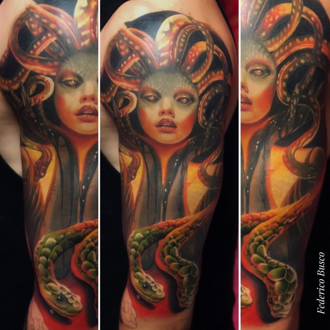 Federico Busco   Inside Tattoo Shop di Donna Mayla   Alba Adriatica   Tatuaggi   Piercing